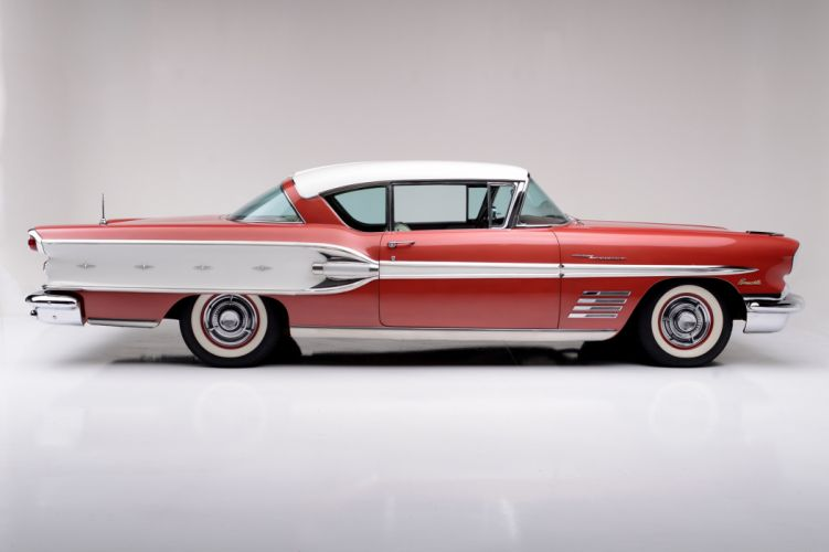 1958 Pontiac Bonneville Custom Fuel Injection Sport Coupe retro luxury wallpaper