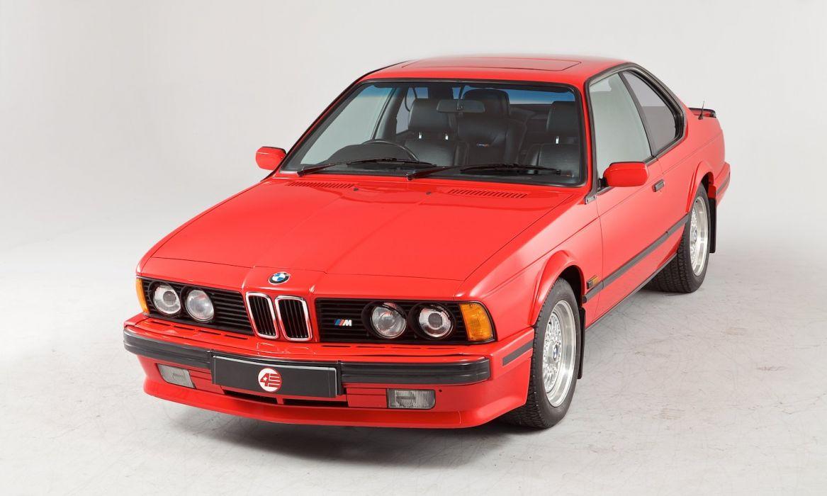 1989 BMW M635 CSi Motorsport Edition E24 tuning race racing wallpaper