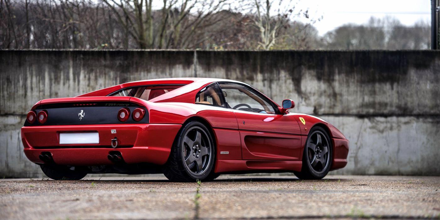 1996 Ferrari F355 Challenge RHD supercar race racing rally wallpaper