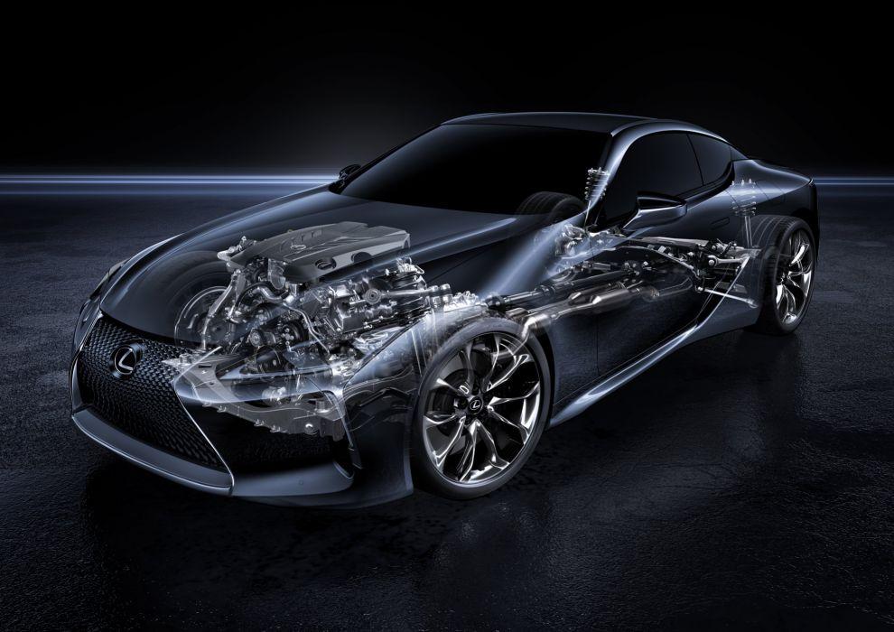 2017 Lexus LC500 l-c 500 wallpaper
