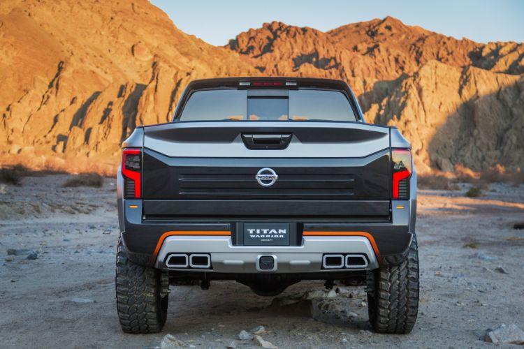 2016 Nissan Titan Warrior Concept AWD pickup oddroad wallpaper
