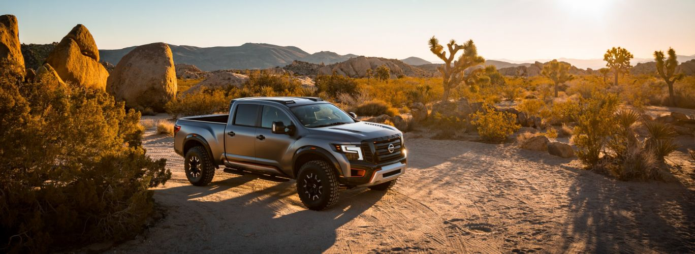 2016 Nissan Titan Warrior Concept AWD pickup oddroad wallpaper