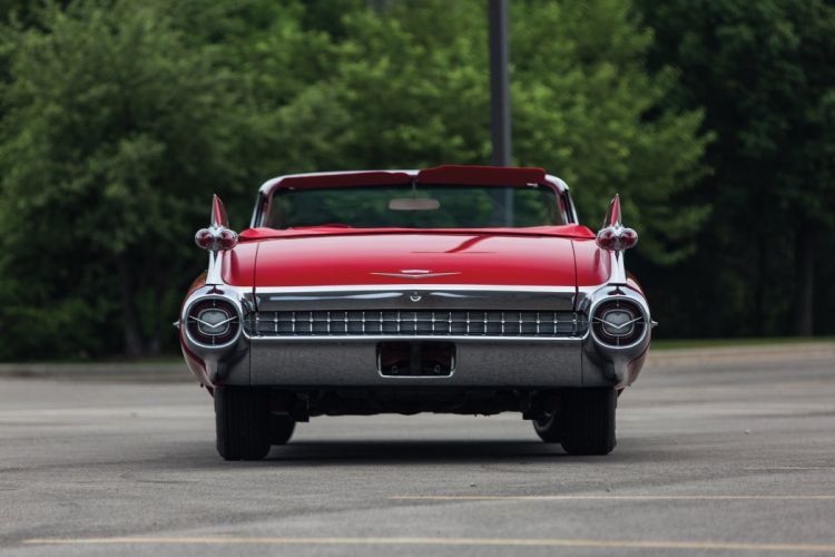 1959 Cadillac Sixty Two Convertible 6267F luxury retro sixty-two wallpaper