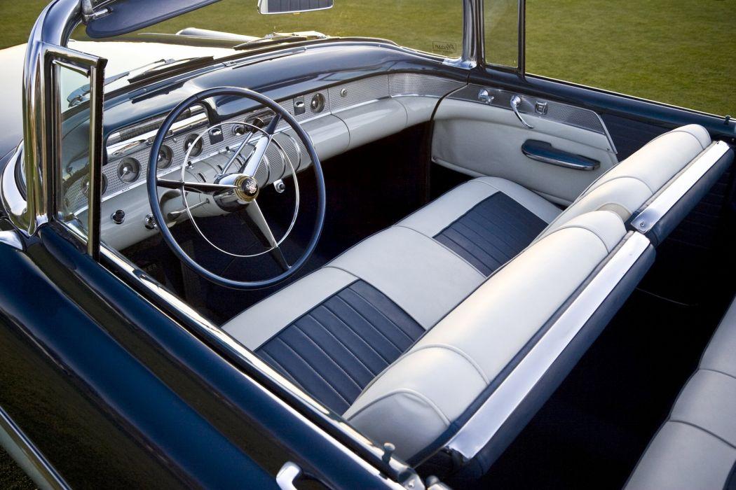 1955 Buick Super Convertible retro luxury wallpaper