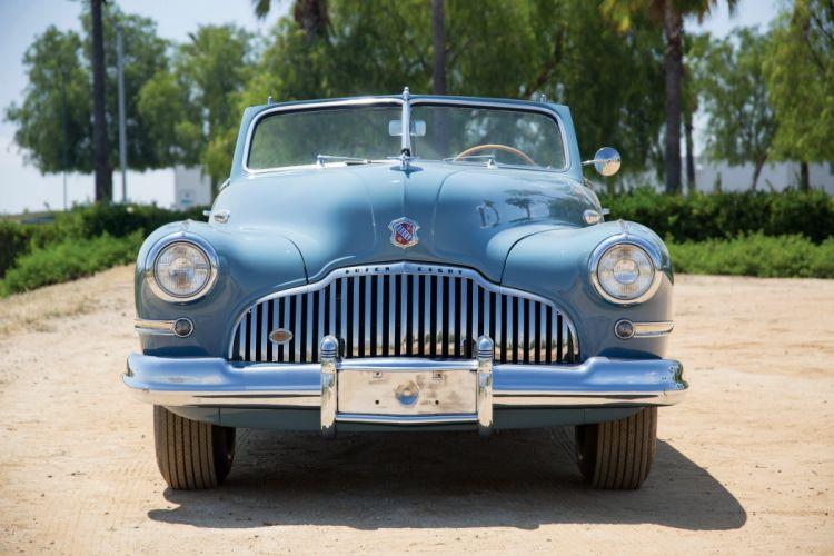 1942 Buick Super Convertible 56C retro luxury wallpaper
