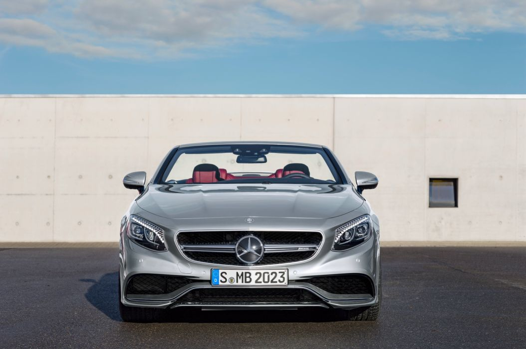 2016 Mercedes AMG 63 4MATIC Cabriolet Edition 130 A217 benz wallpaper