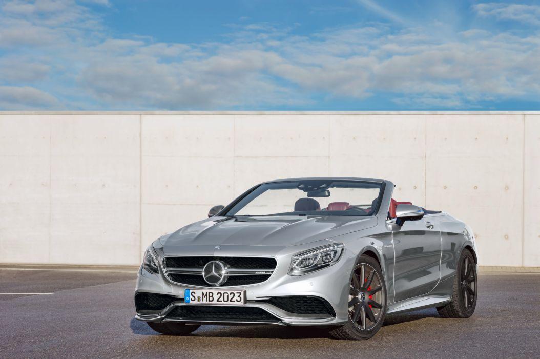 2016 Mercedes AMG 63 4MATIC Cabriolet Edition 130 A217 benz wallpaper