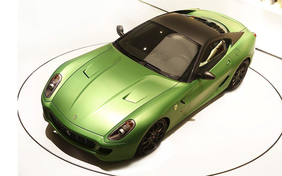 ferrari concept verde coche italianao wallpaper