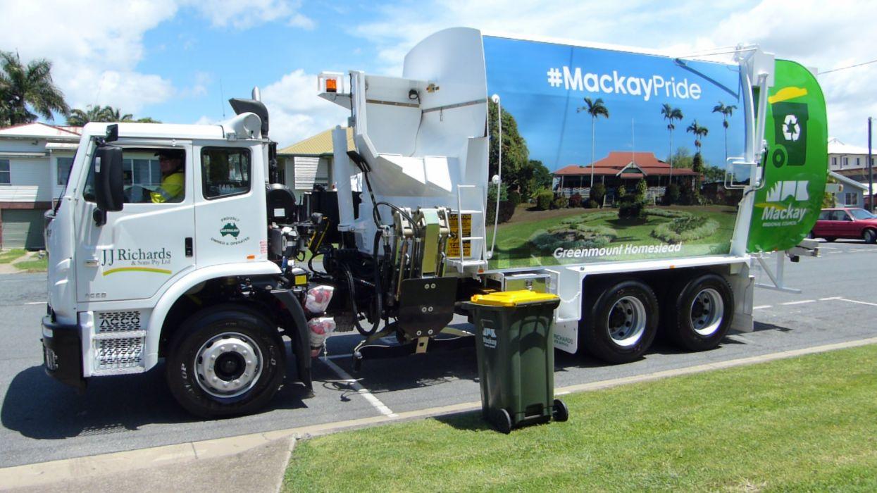 camion limpieza vehiculo wallpaper
