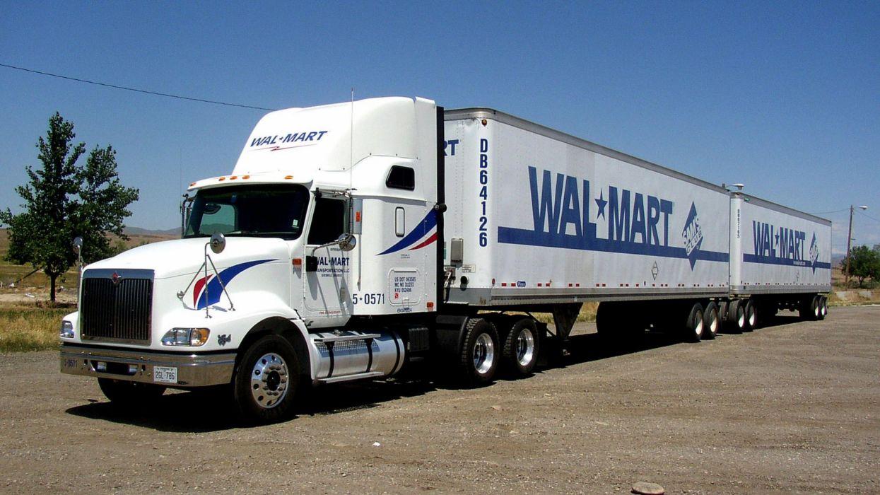 camion trailer tren vehiculo wallpaper