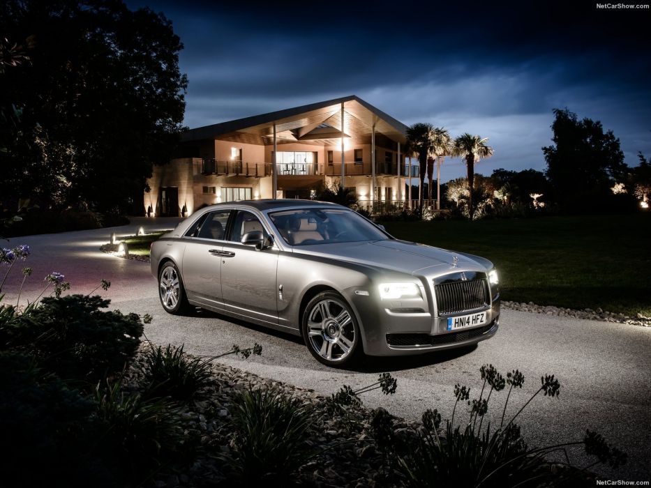 Rolls Royce Ghost Series II cars sedan luxury silver 2015 wallpaper