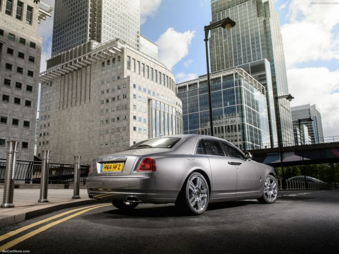 Rolls Royce Ghost Series II cars sedan luxury silver 2015 wallpaper