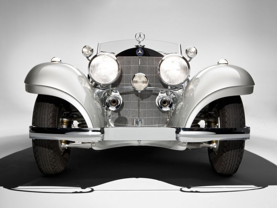 1937 Mercedes Benz 540K Special Roadster luxury vintage wallpaper