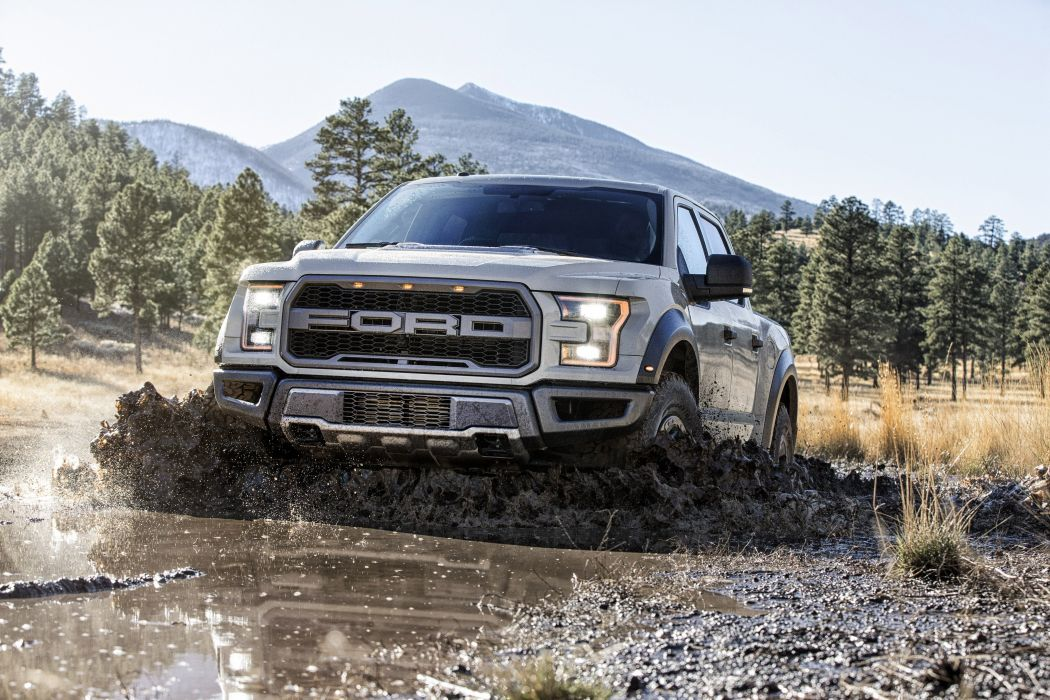 2017 Ford F-150 Raptor SuperCrew offroad pickup muscle wallpaper