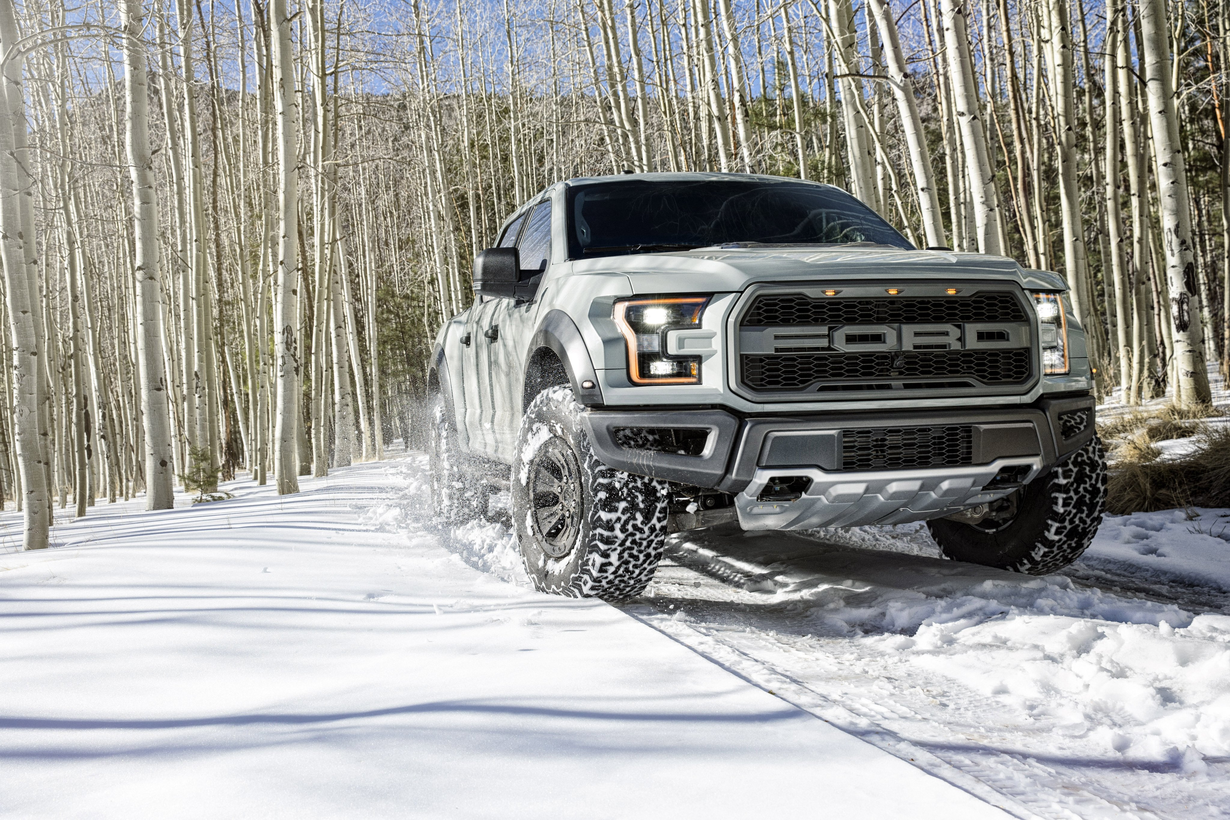 2017 Ford F 150 Raptor Supercrew Offroad Pickup Muscle Wallpaper