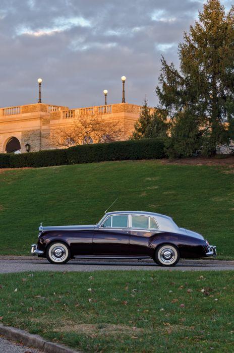 1959 Rolls Royce Silver Cloud LHD I luxury retro wallpaper