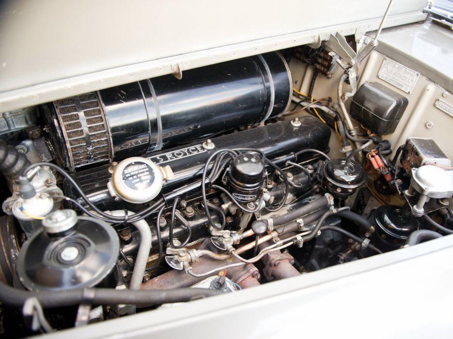 1958 Rolls Royce Silver Cloud LHD I luxury retro wallpaper