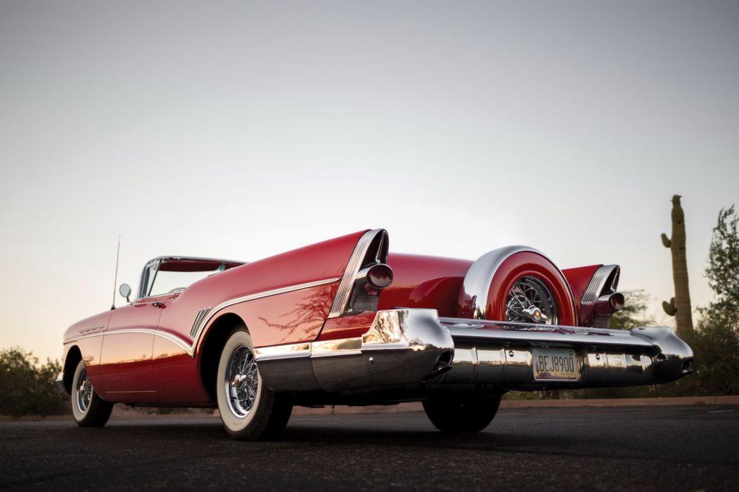 1957 Buick Super Convertible luxury retro wallpaper