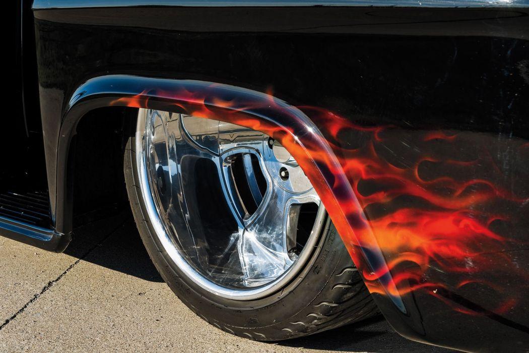 1959 Chevrolet Apache pickup hot rod rods custom retro wallpaper