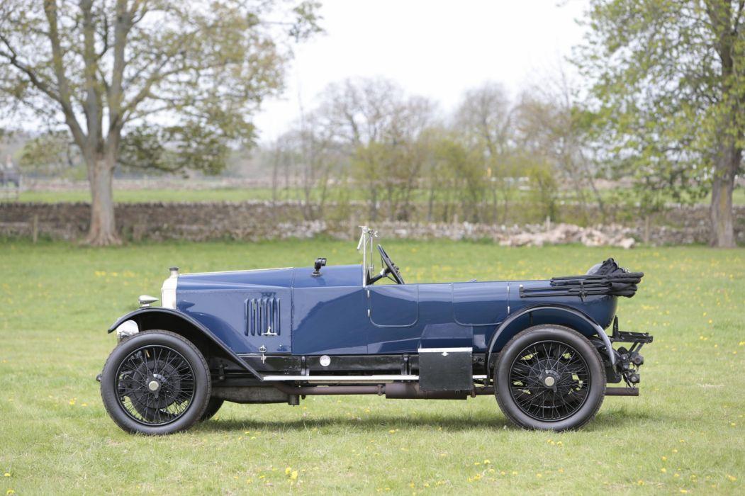 1921 Vauxhall E-Type 30-98 Velox Tourer vintage wallpaper