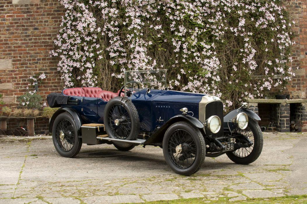 1921 Vauxhall E-Type 30-98 Tourer Mann Egerton luxury vintage wallpaper