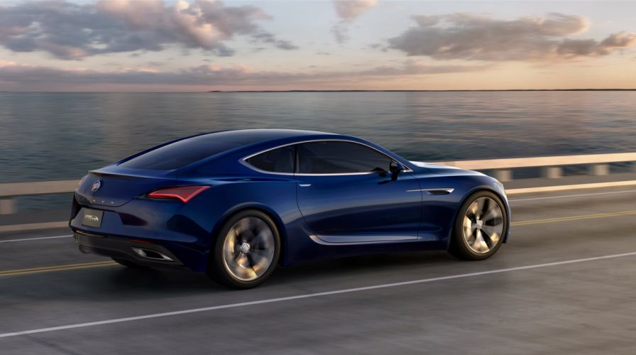 2016 Buick Avista Concept muscle wallpaper