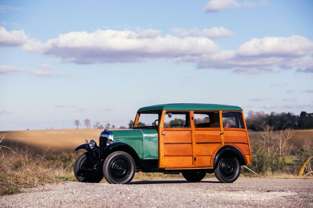1925 Citroen B12 Limousine par Danos suv stationwagon woody vintage luxury wallpaper