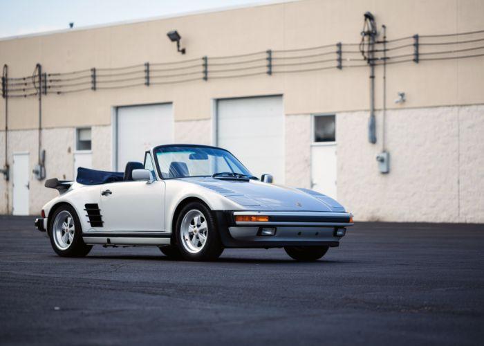 1987-89 Porsche 911 Turbo 3-3 Flachbau Cabriolet US-spec 930 wallpaper
