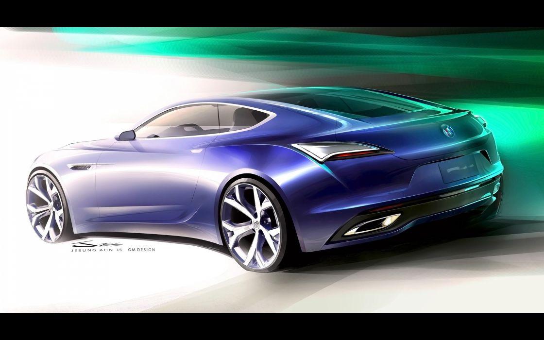 2016 Buick Avista Concept wallpaper