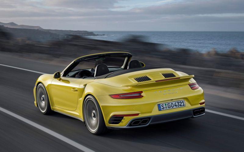 2016 Porsche 911 Turbo S wallpaper