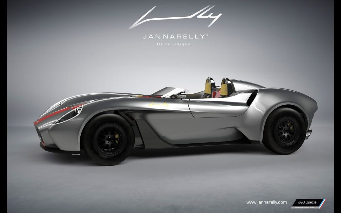 2016 Jannarelly Design-1 Roadster supercar design wallpaper
