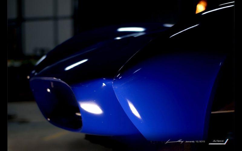 2016 Jannarelly Design-1 Roadster supercar design wallpaper