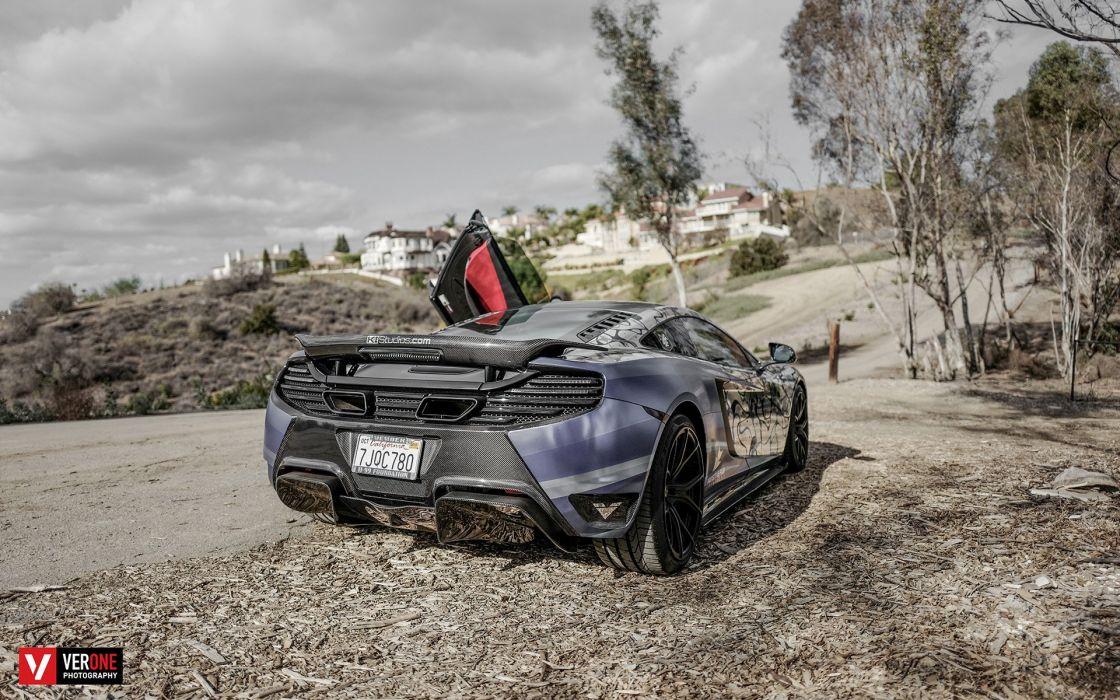 2016 Vorsteiner McLaren MP4-VX supercar tuning mp4 wallpaper