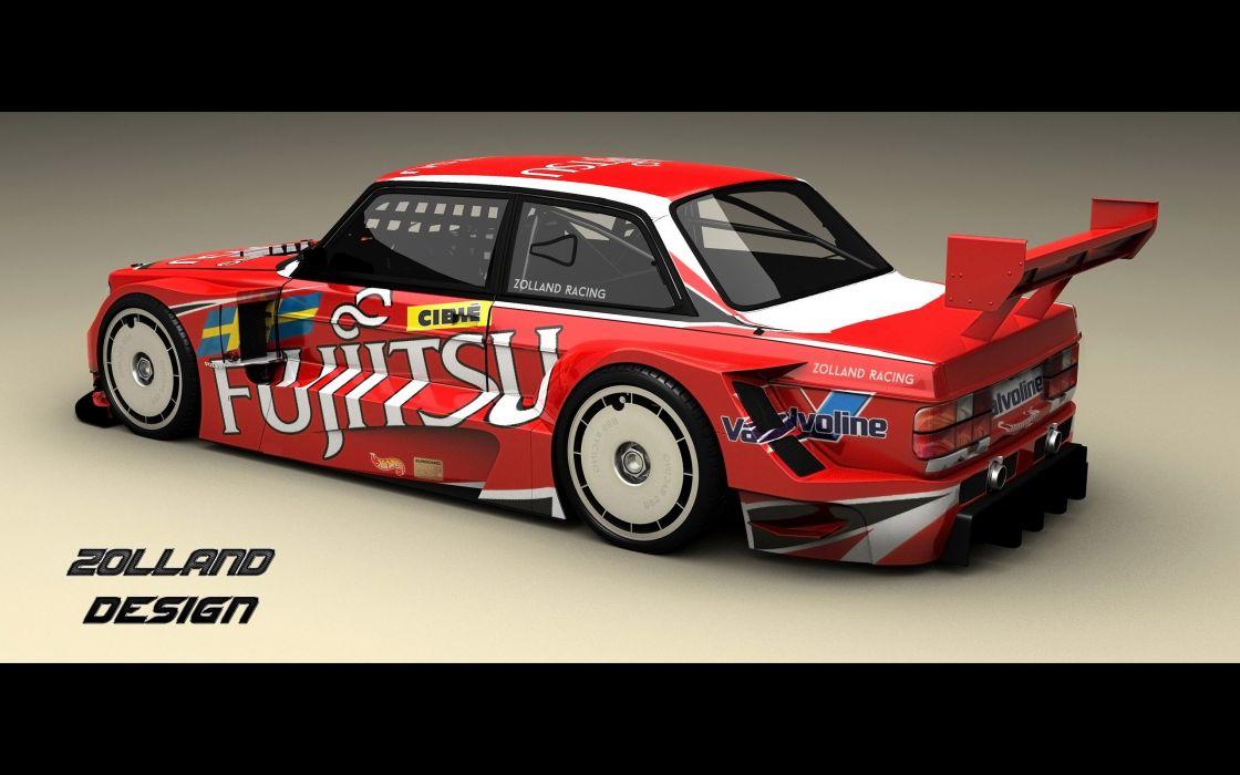 2016 Zolland Design Volvo 242 Time Attack tuning xustom race racing wallpaper