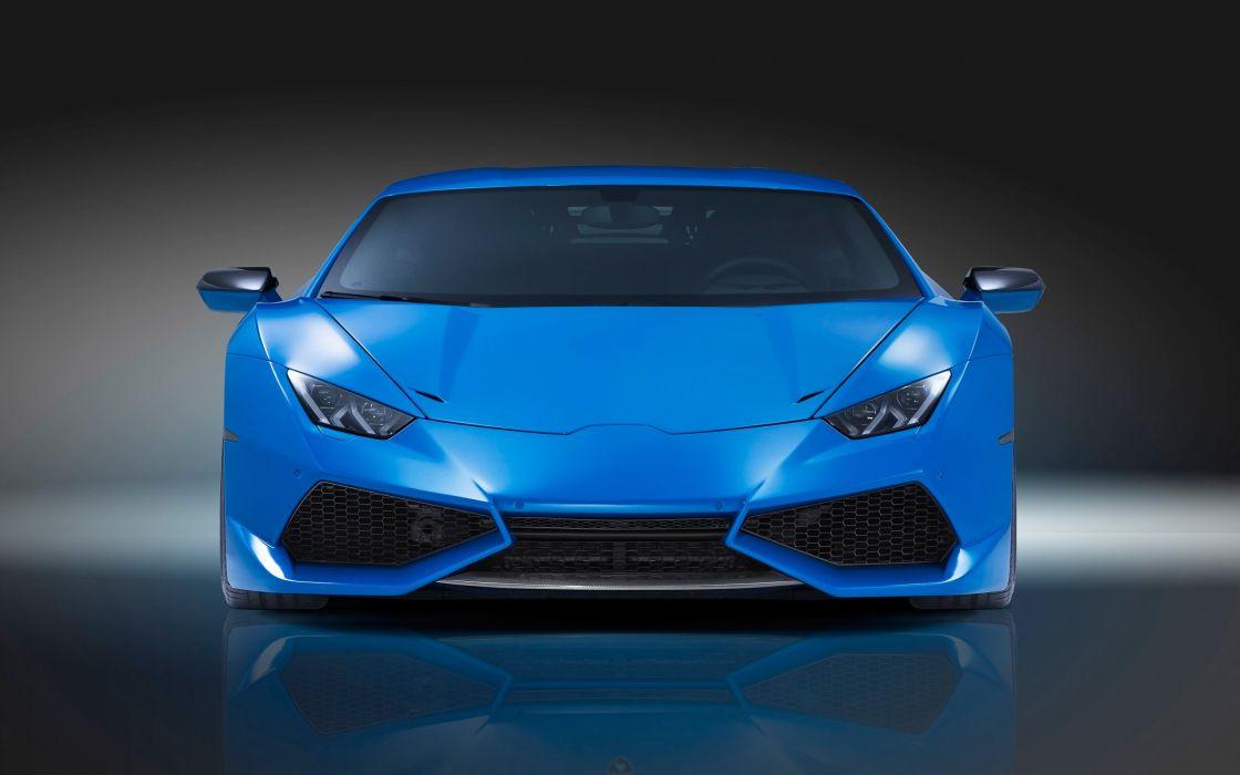 2015 Novitec Torado Lamborghini Huracan N-Largo supercar wallpaper