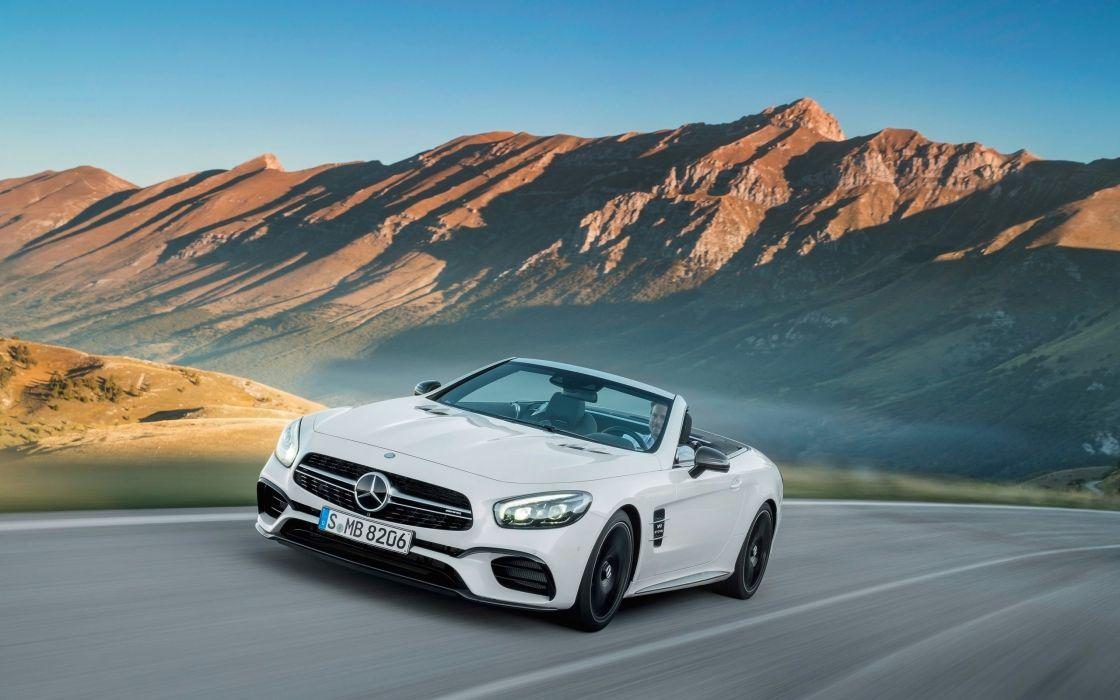 2016 Mercedes AMG SL63 benz wallpaper