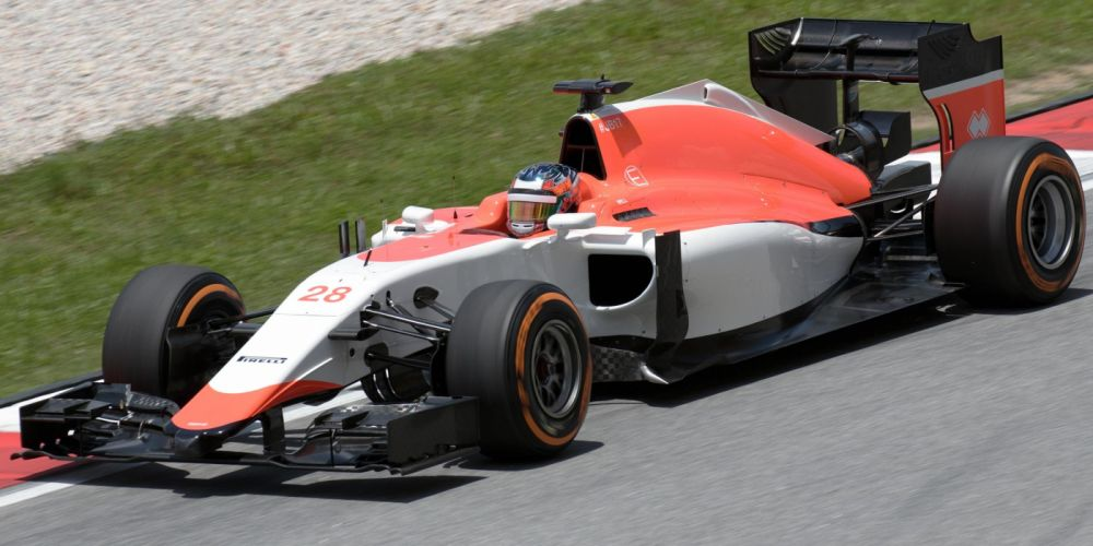 2015 Manor Marussia MR04 F-1 formula race racing wallpaper