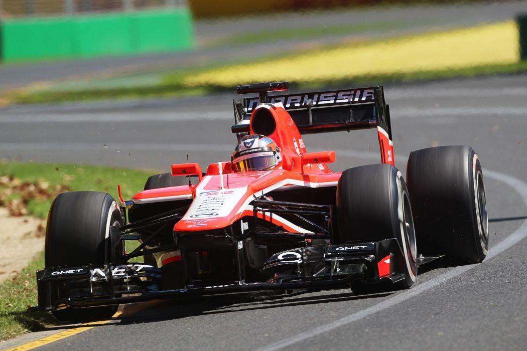 2013 Marussia MR02 F-1 formula race racing wallpaper