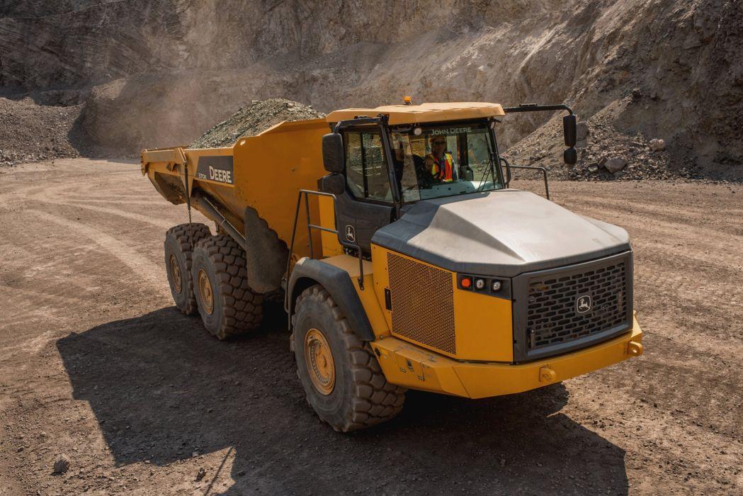 Deere ADT 370E 6x6 offroad construction quarry dump dumptruck semi tractor wallpaper