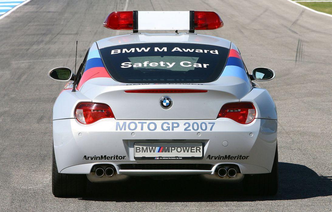 2007 BMW Z-4M Coupe MotoGP Safety E85 z-4 race racing grandprix wallpaper