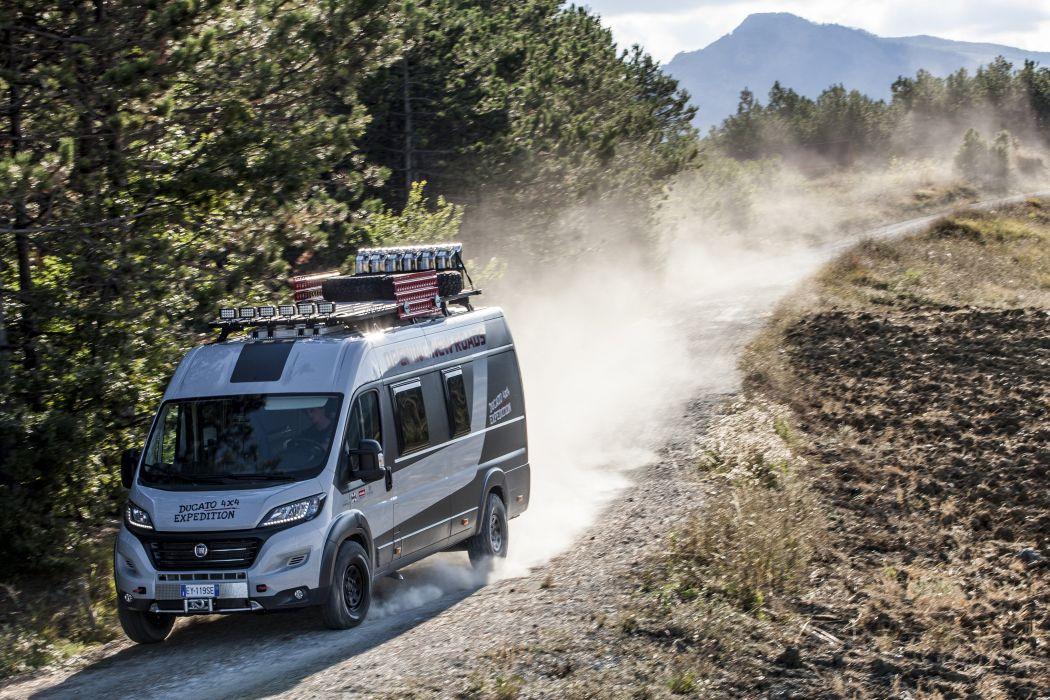 2016 Fiat Ducato 4x4 Expedition van suv caravan camper motorhome wallpaper