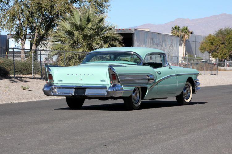 1958 Buick Special 2-door Riviera Hardtop luxury retro wallpaper