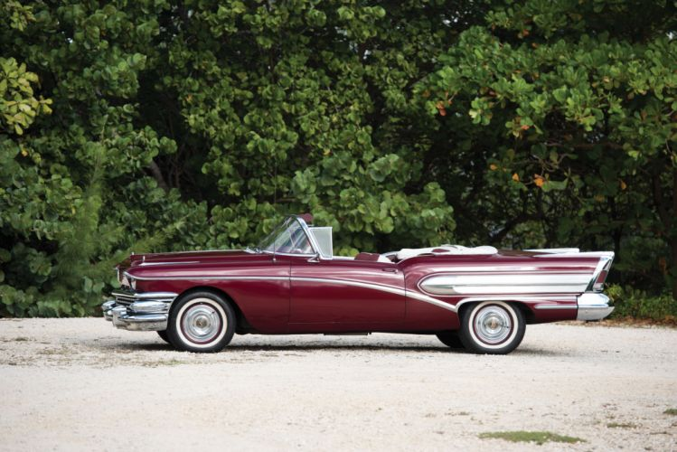 1958 Buick Special Convertible luxury retro wallpaper