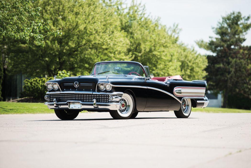 1958 Buick Special Convertible luxury retro wallpaper