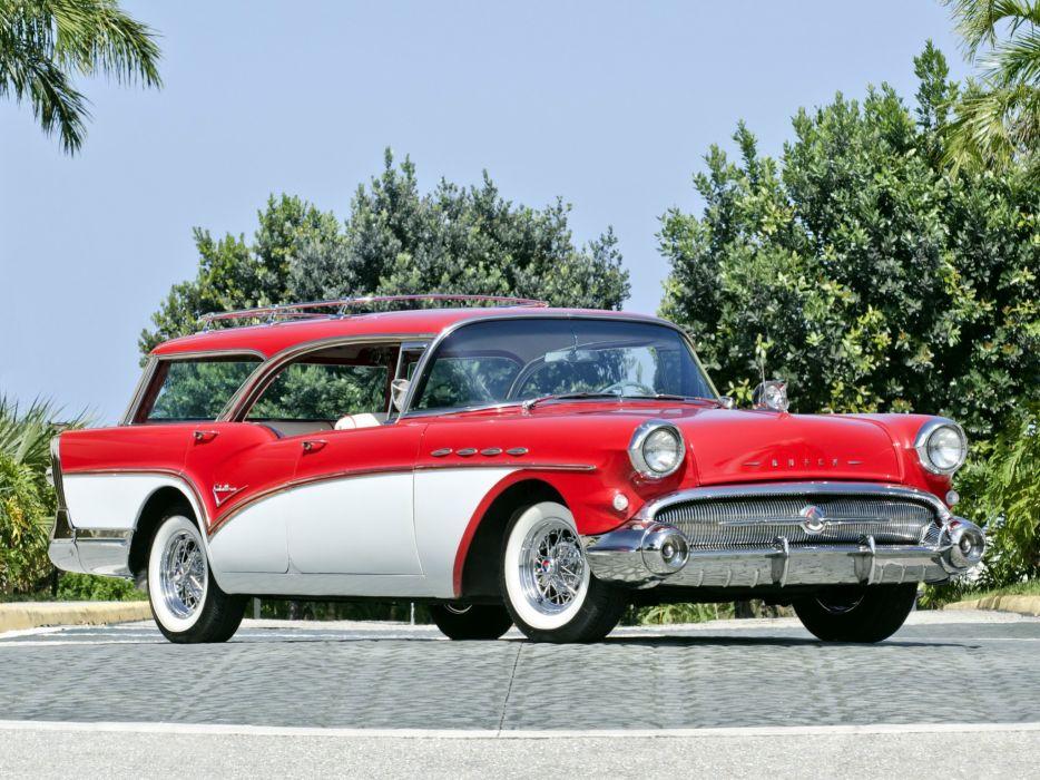 1957 Buick Century Caballero Estate Wagon Stationwagon