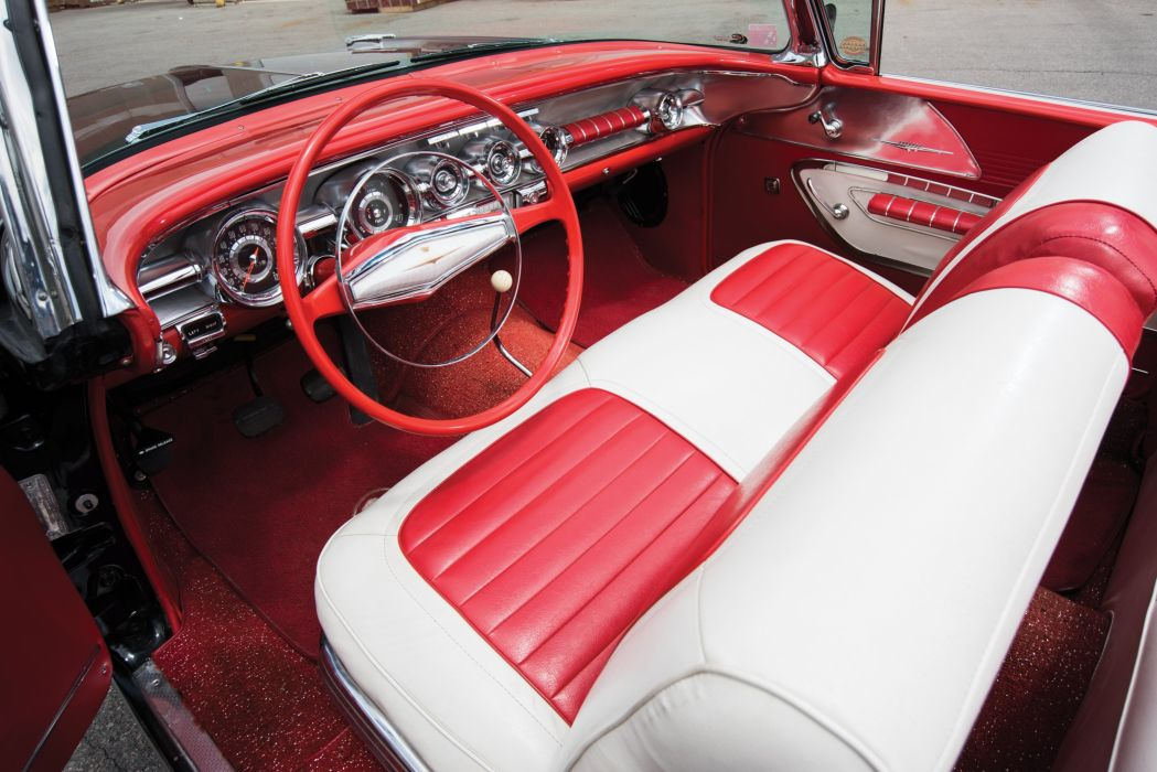 1958 Pontiac Parisienne Convertible luxury retro wallpaper