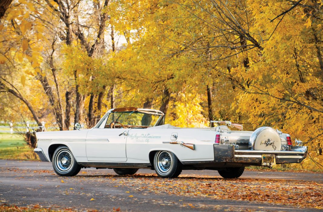 1963 Pontiac Bonneville Convertible Nudie Cohn classic luxury custom wallpaper