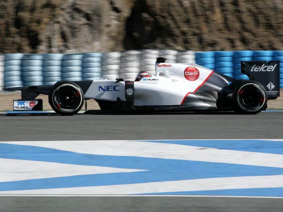 2012 Sauber C31 F-1 formula race racing wallpaper