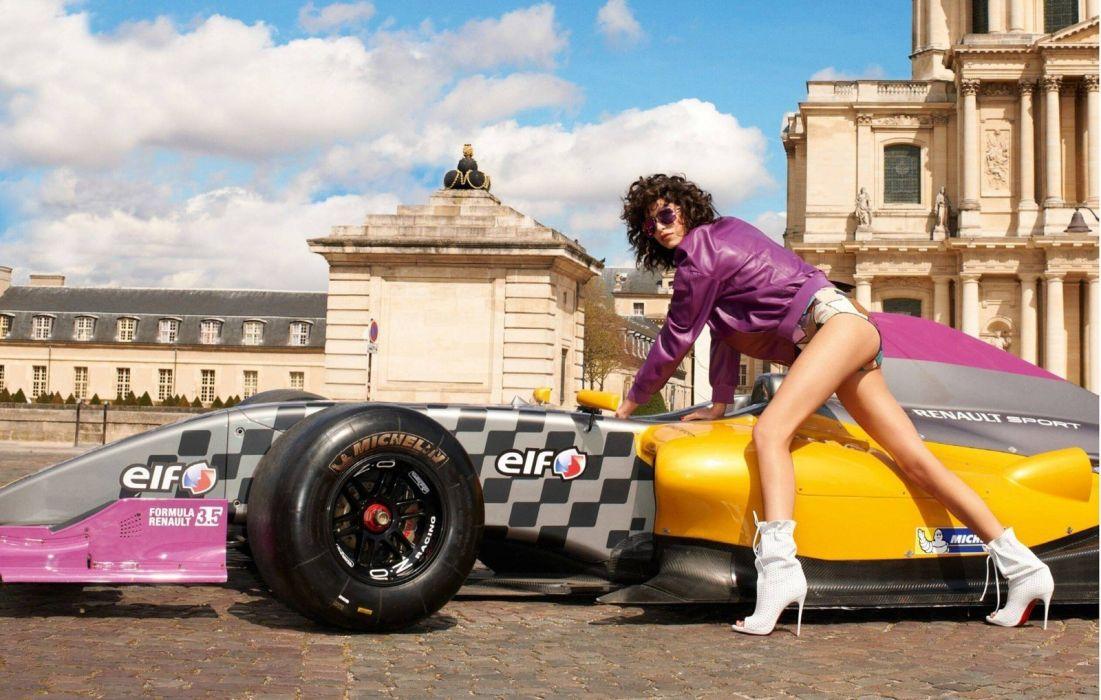 women woman female model girl auto cars sexy babe wallpaper