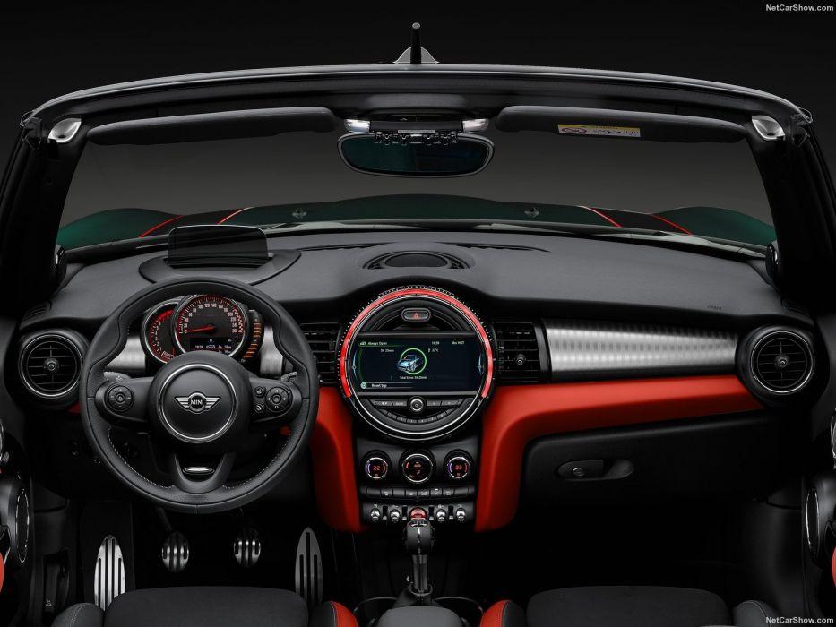 Mini John Cooper Works Convertible cars 2016 wallpaper